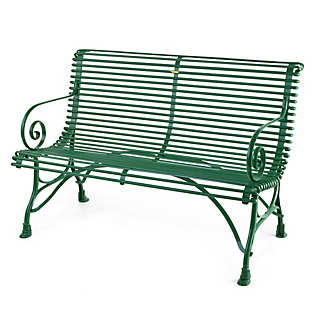 French Garden Bench Made of Iron