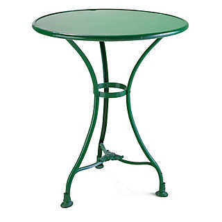 French Garden Table and Chair Made of Iron