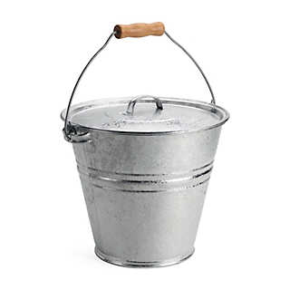 Galvanized Bucket and Lid