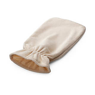 Hot-water bottle cover, terry towelling