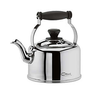 Italian Stainless Steel Kettle | Coffee and Tea