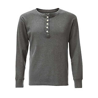 Knowledge Cotton Apparel Henley-Shirt   T-Shirts