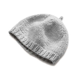 Ladies' Hand-Knitted Lambswool Cap