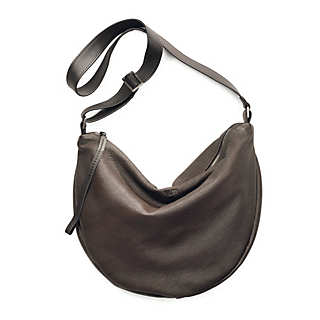 Ladies' Small Buckskin Leather Bag