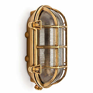 Large Brass Cellar Light | Lighting