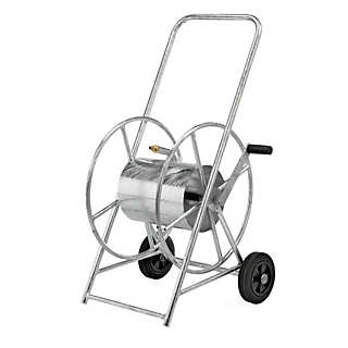Large Galvanised Steel Hose Trolley | Irrigation