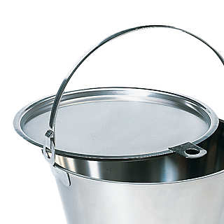 Lid for Stainless Steel Bucket | Household Essentials
