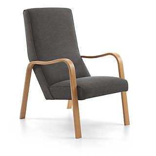 Manufactum Snugly Upholstered Reading Armchair