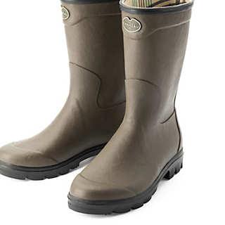 Men's Rubber Boots For the Garden | House Shoes