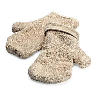 Oven Mittens Made of Cotton 1 Pair