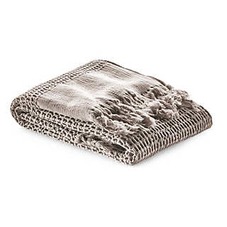 Piqué Weave Hand Towel with Border | Towels