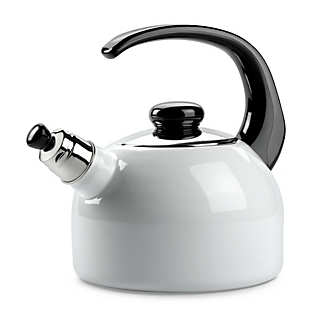 Riess Enamel Whistling Kettle | Coffee and Tea