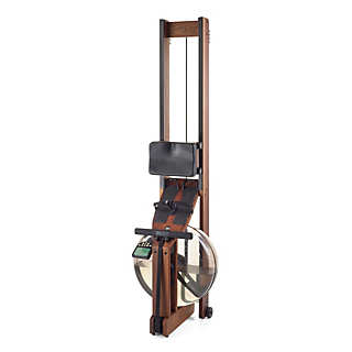 Rowing Ergometer made of wood with monitor