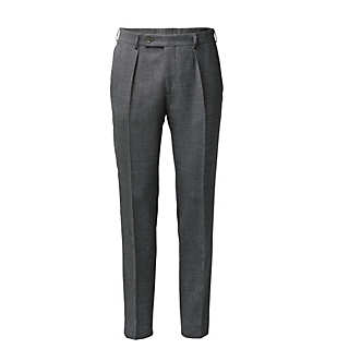 Scabal Men's Virgin Wool Trousers