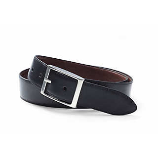 Schröder reversible cow hide belt