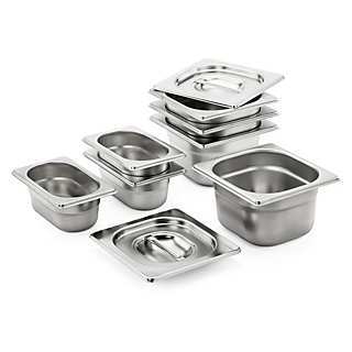 Set of Stainless Steel Containers