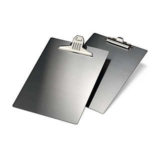 Stainless Steel A4 Clipboard with Small Clip | Desk Supplies
