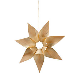 Wood Shaving Star | Home Accessories