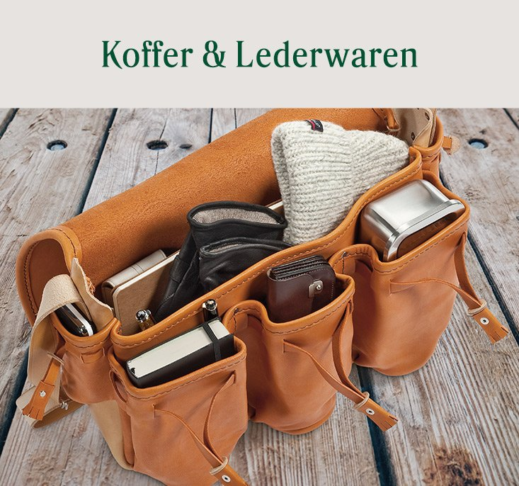Sortiment Koffer & Lederwaren