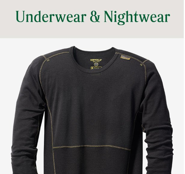 Mens Underwear & Nightwear