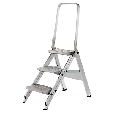 three-step-aluminum-ladder