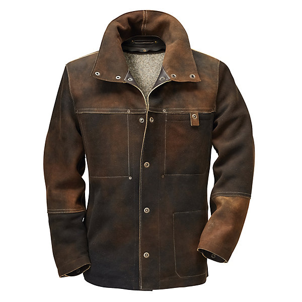 Hack Men's Chamois Tanned Deerskin Jacket_01