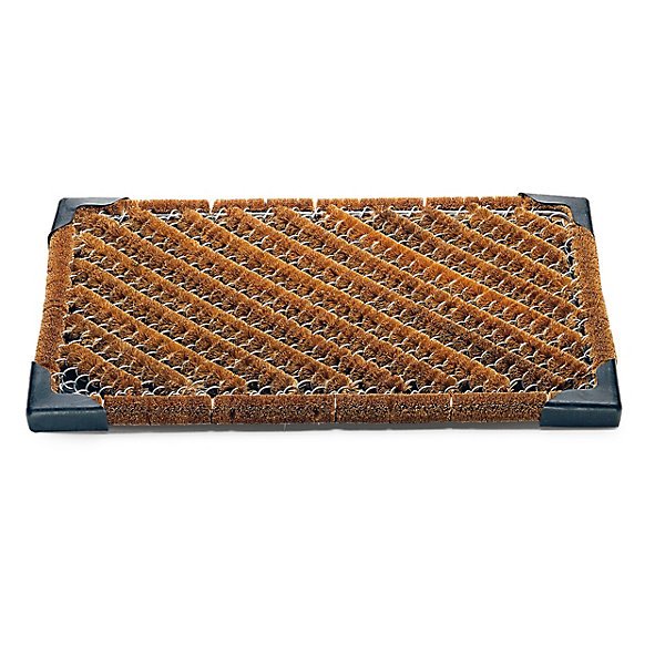 Coconut Fibre and Wire Mesh Doormat_01