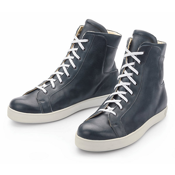 Werner Men's High Top Trainers Made from Olivenleder®_01