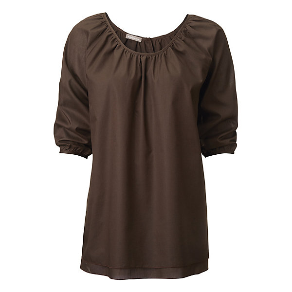Cotton Blouse with Raglan Sleeve_01