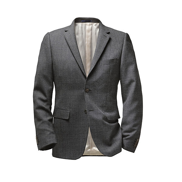 Scabal virgin wool men's jacket_01