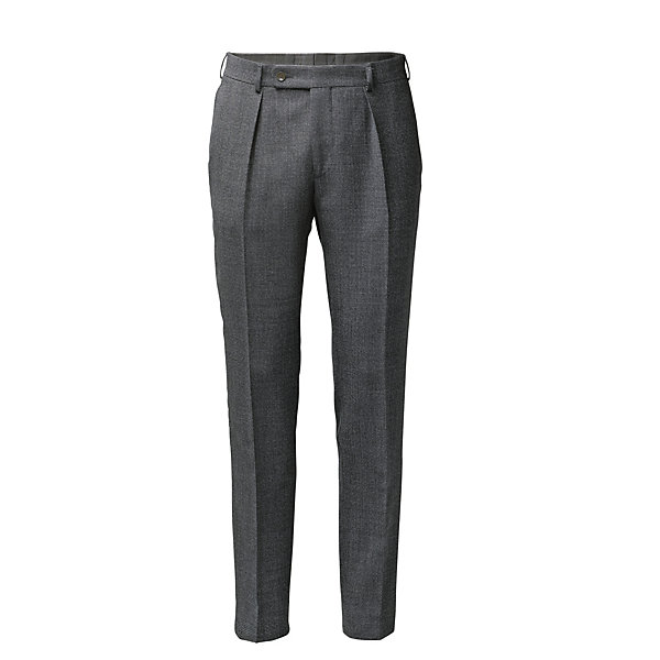 Scabal Men's Virgin Wool Trousers_01
