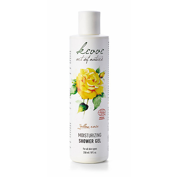 Kivvi Yellow Rose Shower Gel_01