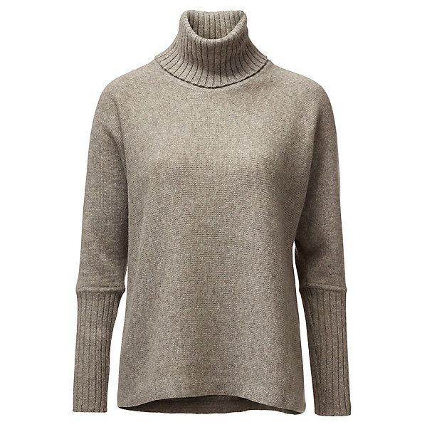 Uujin Women's Yak Hair Turtleneck Jumper_01