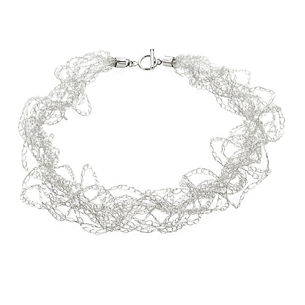 Crocheted Silver Necklace_01