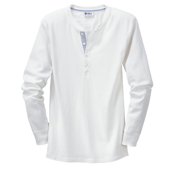 Schiesser Men's Fine Rib Long-Sleeved Undershirt_01