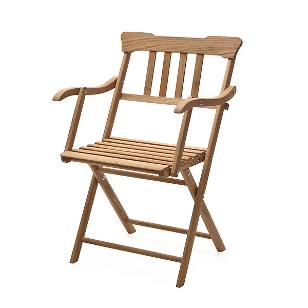 Danish Garden Armchair Made of Oak_01
