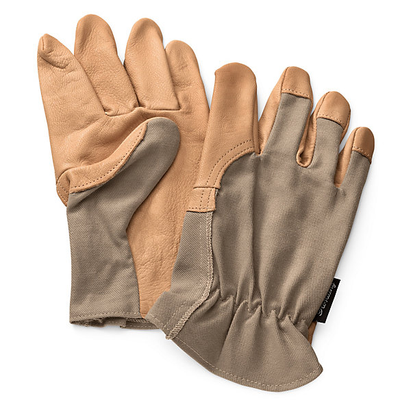 Cotton and Leather Garden Gloves_01