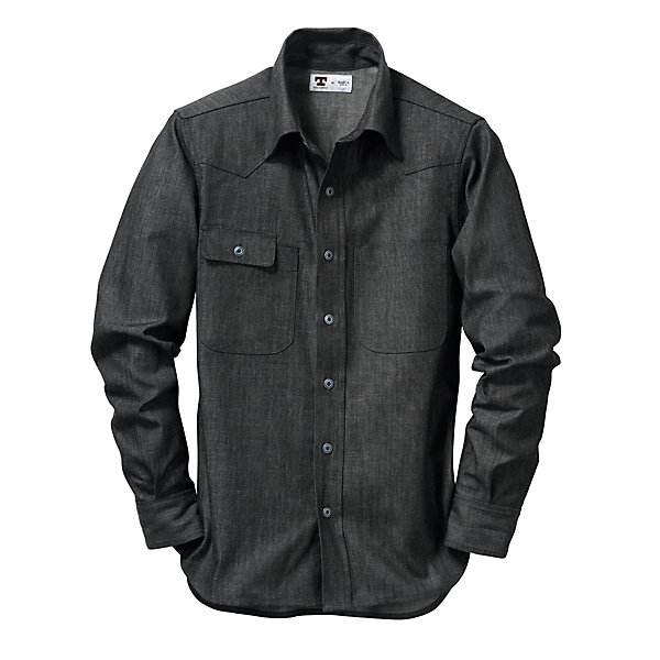 Tellason Dark Denim Shirt_01
