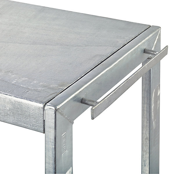 Plant and Grill Table Made of Galvanized Steel_02