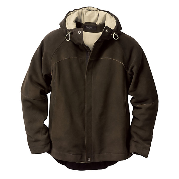 Men's Suede Hooded Jacket_01