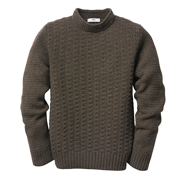 Inis Meáin Men's Stand-Up-Collar Sweater_01
