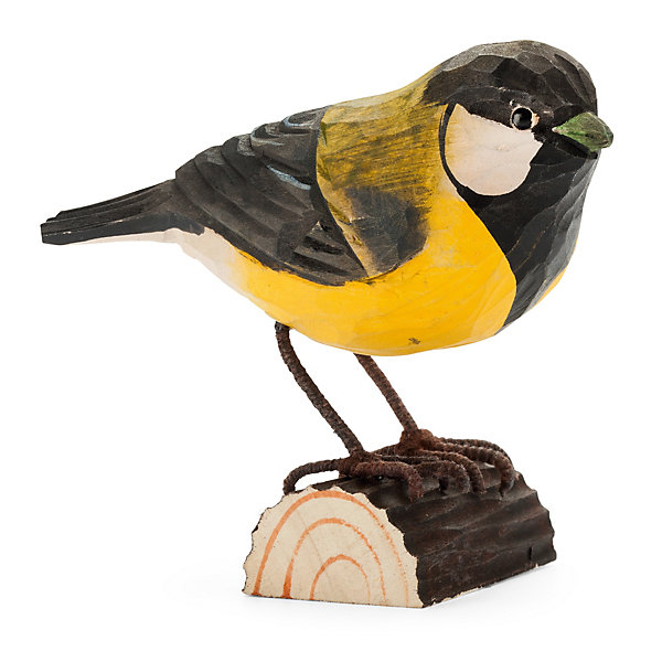 Great Tit Made of Lime Wood_01