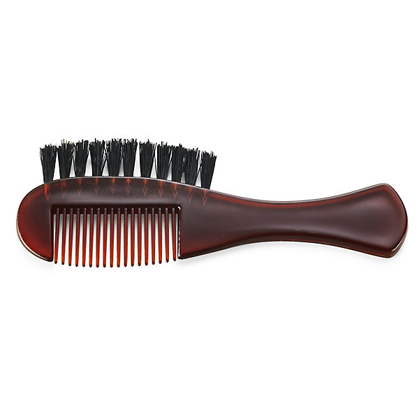 Beard comb with an integrated brush_01