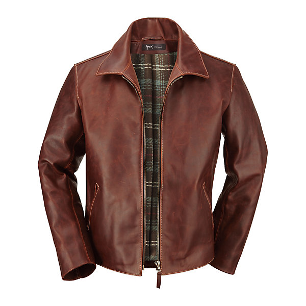 Hack Men's-Cordovan Pull-Up Jacket_01