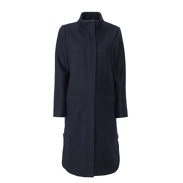 Elsien Gringhuis Ladies' Wool Coat With Stand-Up Collar_01