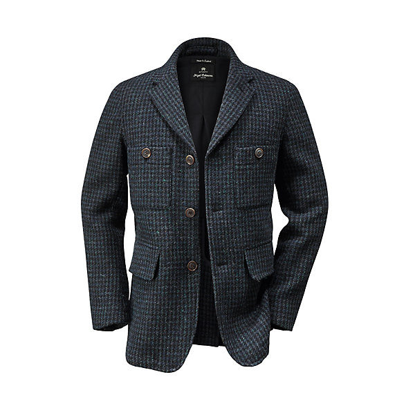 Nigel Cabourn Men's-Hound's Tooth Jacket_01