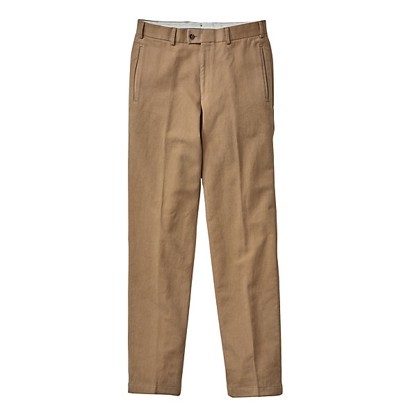 Hiltl Men's Napped Cotton Trousers_01