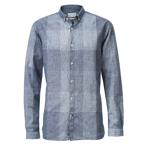 Knowledge Cotton Apparel Men's Shirt with Check Pattern_01
