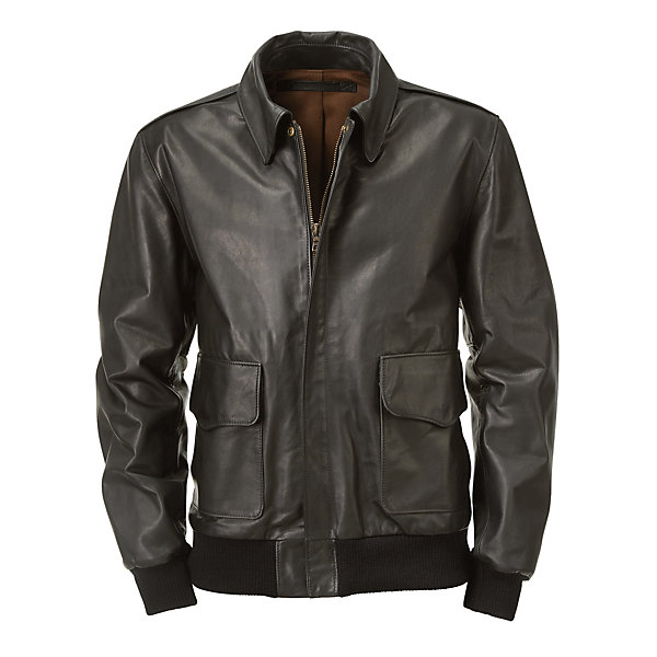 Hack Cow's Leather Men's Bomber Jacket_01