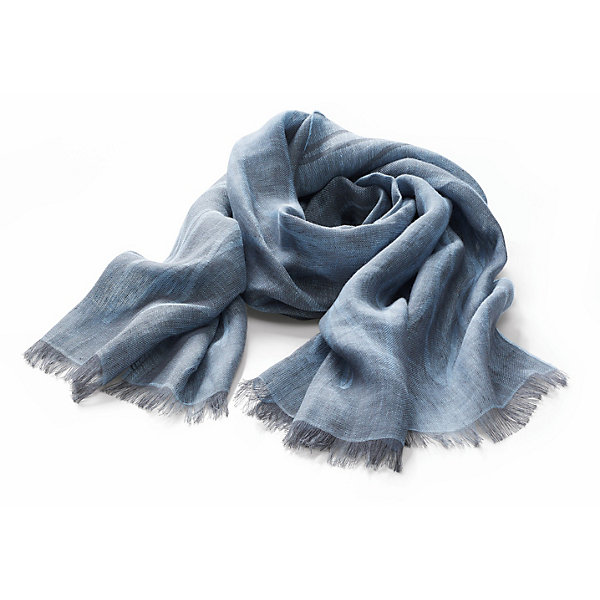 Jurate Linen Scarf with a Pattern_01